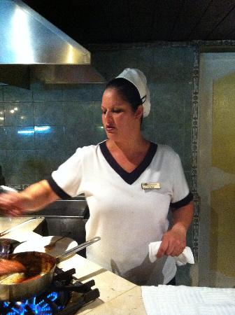 Hotel Playa Costa Verde: Adrianna very good pasta cook