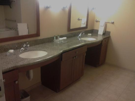Homewood Suites by Hilton Phoenix Airport South: Bathroom 1