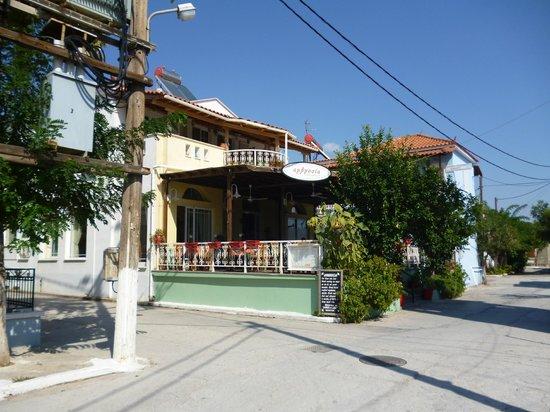 Skala Kallonis, Greece: Ambrosia Restraunt