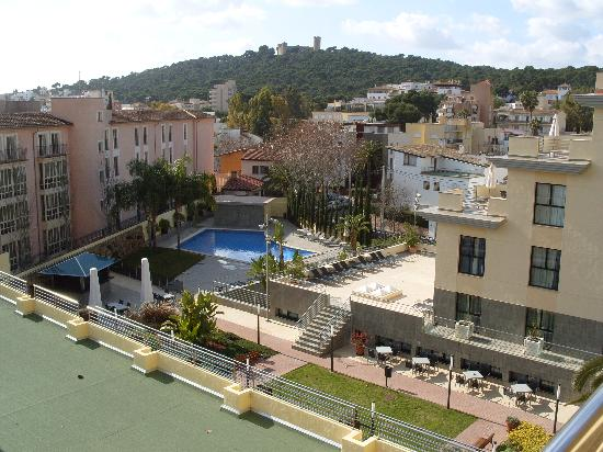 View from balcony room picture of hotel isla mallorca - Palma de mallorca spa ...