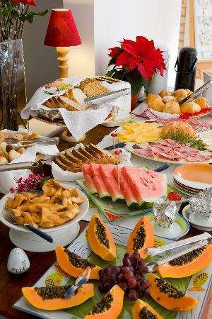 Pousada Mar de Jurere: Our Breakfast