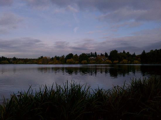Green Lake Park : View from NE corner of Green Lake