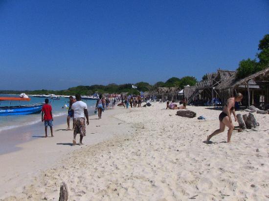 Decameron Baru: Playa Blanca, plage publique