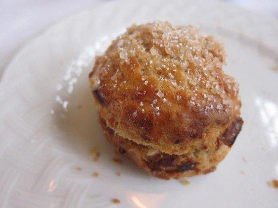 Langdon Hall: the scone