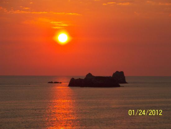 Barcelo Ixtapa: Beautiful sunset!