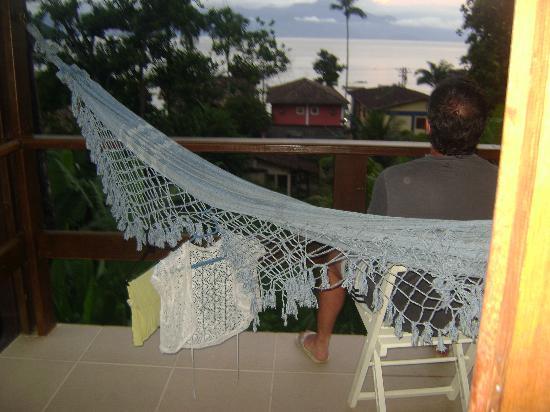 Pousada Tagomago Beach Lodge: atardecer en el balcon
