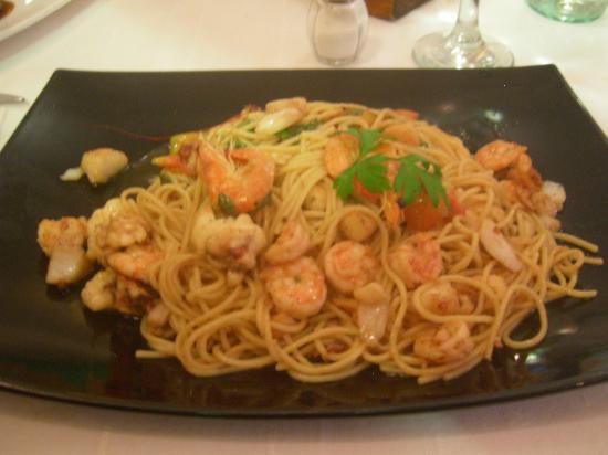 Sociedad Asturiana Castropol: spaghetti allo scoglio
