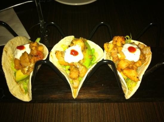 Mint Bistro : fish tacos