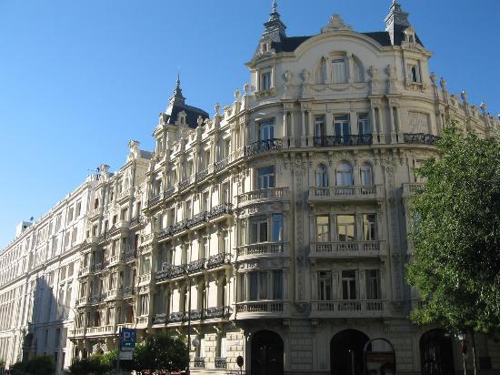 barrio de salamanca elegante barrio elegantes casas