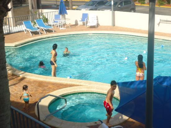 Days Inn & Suites Davenport: vista desde la habitacion