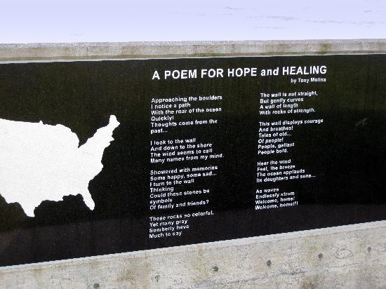 Don Davis Memorial Park : Newport - memorial poem, Don Davis Park