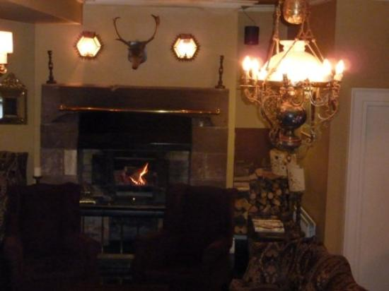 Tullylagan Country House Hotel: Reception/sitting room area