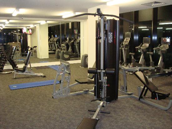 gym picture of citadines on bourke melbourne melbourne. Black Bedroom Furniture Sets. Home Design Ideas