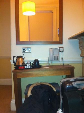 Cavendish Hotel- Bloomsbury: Et lite inntrykk av hvor skeivt gulvet var