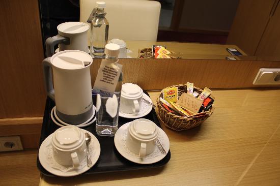 Hotel Erboy: fresh water and tee