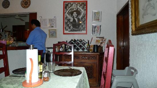 La Cucina Italiana : Comedor