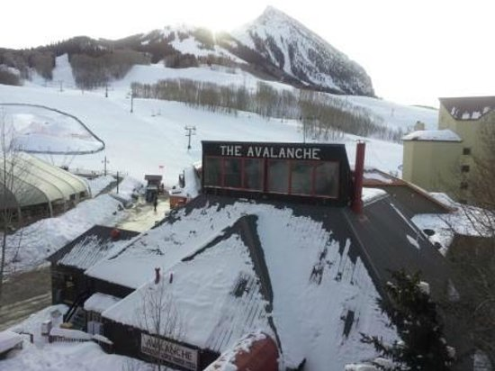 Avalanche Bar & Grill: The Avalanche - from our room.