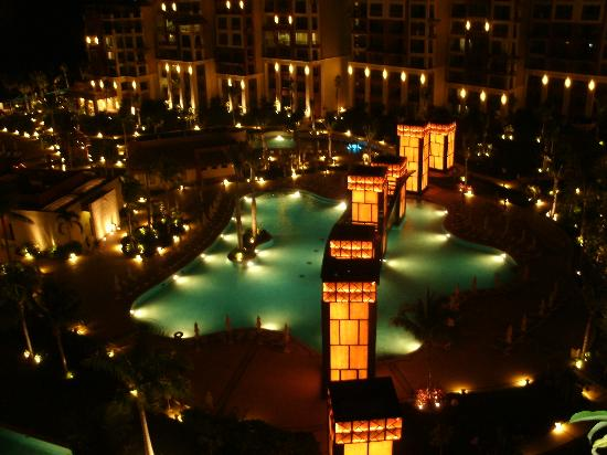 Villa del Palmar Cancun Beach Resort & Spa: gorgeous at night