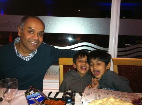 Saffron: Ashrafs birthday