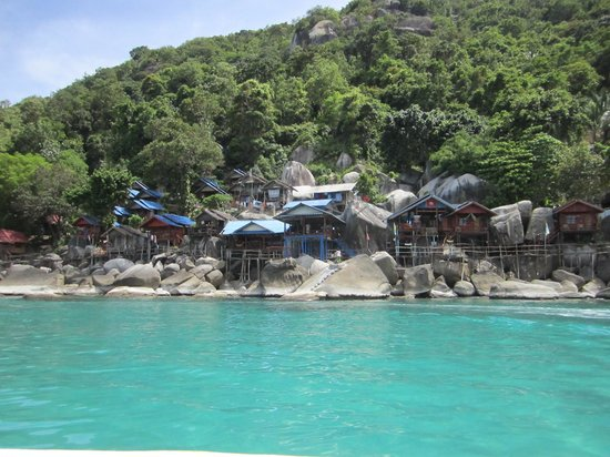 Haad Yuan Beach: Ocean Rock Resort