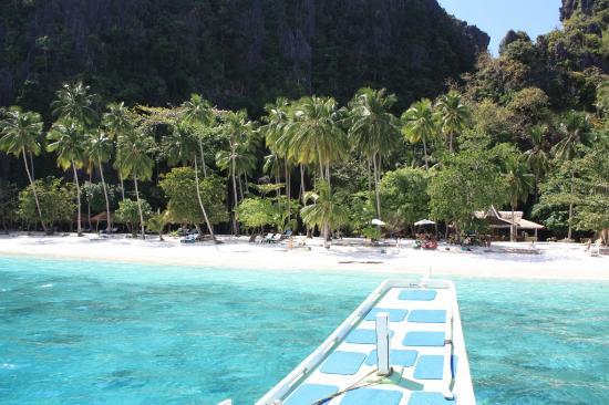El Nido Resorts Lagen Island: Approach Entalula Island