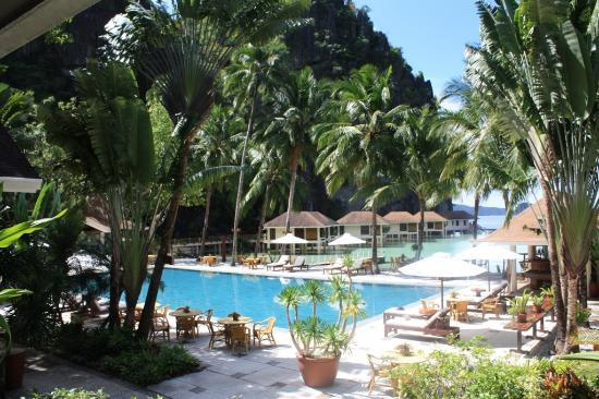 El Nido Resorts Lagen Island: Gorgeous pool area