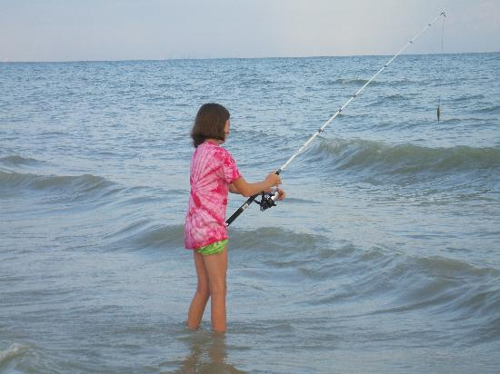 Pointe Santo de Sanibel: beach fishing