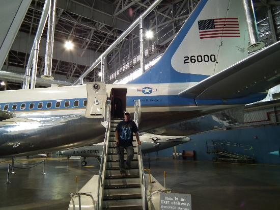 air force one picture of national museum of the u s air force dayton tripadvisor. Black Bedroom Furniture Sets. Home Design Ideas