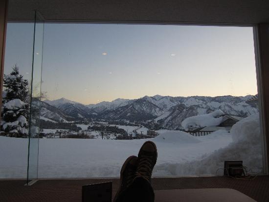 Hotel Sierra Resort Yuzawa: view from the lounge