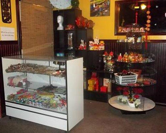 Thai Bay Cafe: a small gift shop
