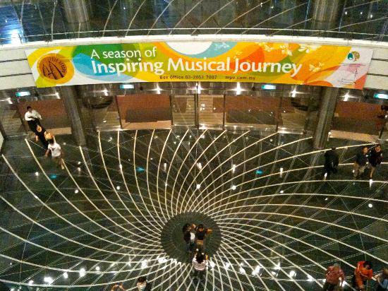 Dewan Filharmonik Petronas: the lobby