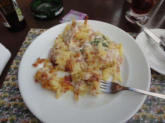 Berggasthaus Ebenalp: yum!