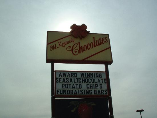 Old Kentucky Chocolates: Try the chocolate dipped potatoe chips