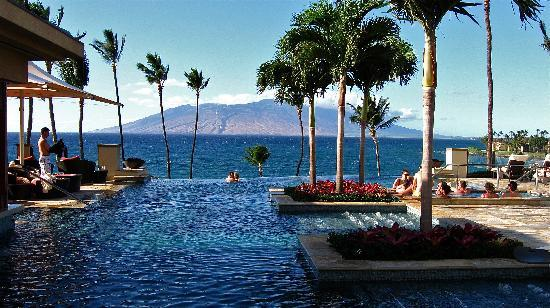 ‪‪Four Seasons Resort Maui at Wailea‬: Infinity adult pool area‬
