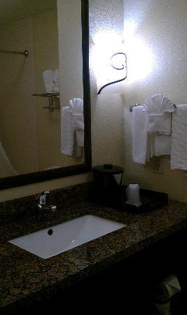 La Quinta Inn & Suites DFW Airport West - Bedford: Bathroom