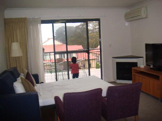 Leisure Inn Spires - Blue Mountains: Sofa bed