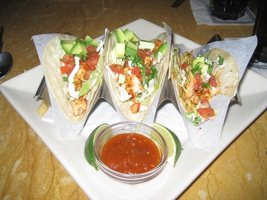 The cheesecake factory las vegas 3500 las vegas blvd s for Fish taco restaurant
