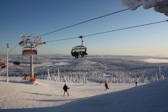Куусамо, Финляндия: On the slopes