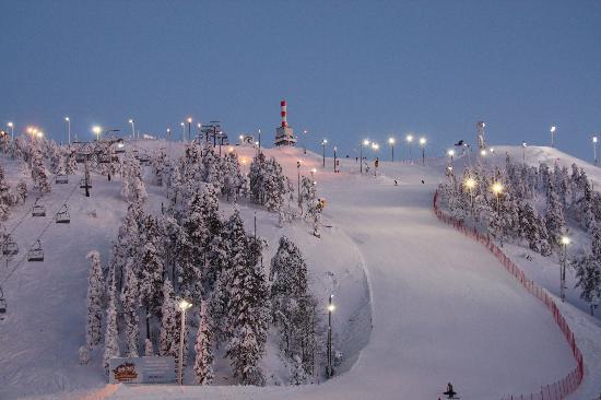 Куусамо, Финляндия: Front slopes