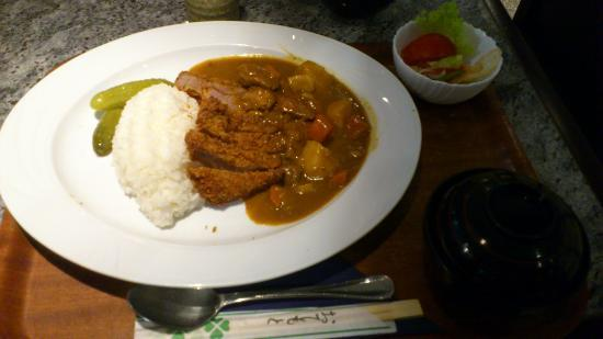 Nippon-kan: Tonkatsu (fried pork cutlet)  Curry rice