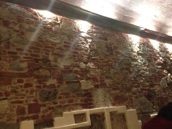 Ristorante Don Chisciotte: parete