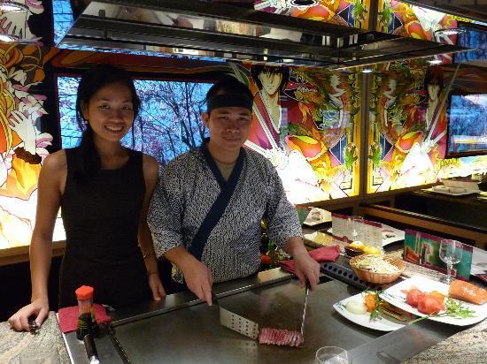 Fuji : Pink et Kim : le sourire et la convivialité