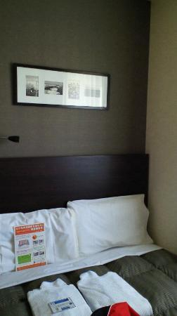Comfort Hotel Kitami : ベット