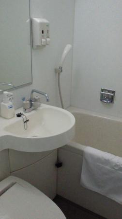 Comfort Hotel Kitami : 風呂場