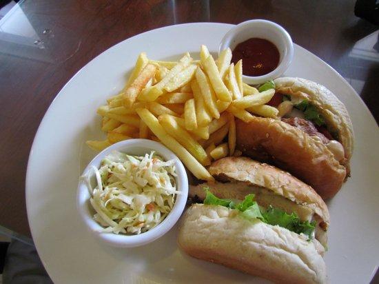 Chase Restaurant - Chicken Burger (with bulletproof fillet)