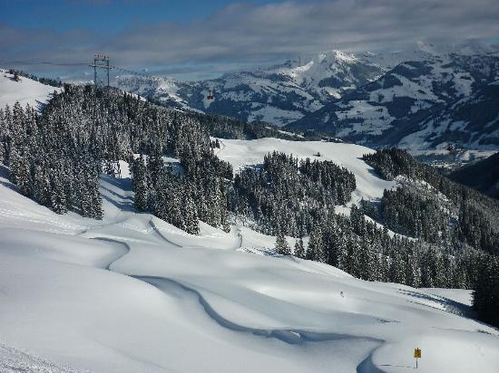 Aurach Hotel: Kitzbuhel skiing
