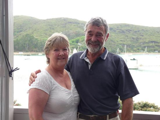 Kawau Lodge & Kawau Island Experience: Helen and Dave, wonderful hosts