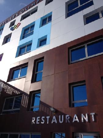 Aparthotel Les Olimpiades: Olimpiades Bar & Restaurant.