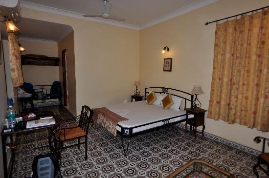 Ratan Vilas: Interior habitación
