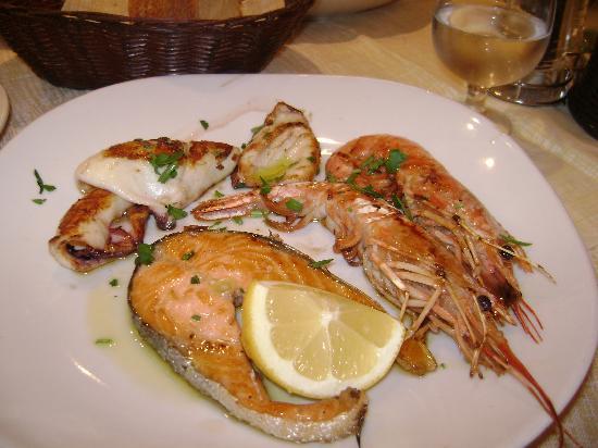 Dinner at La Famiglia